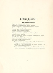 Page 12, 1907 Edition, Wake Forest University - Howler Yearbook (Winston Salem, NC) online yearbook collection