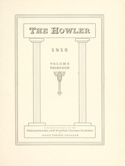 Page 7, 1915 Edition, Wake Forest University - Howler Yearbook (Winston Salem, NC) online yearbook collection
