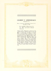 Page 12, 1922 Edition, Wake Forest University - Howler Yearbook (Winston Salem, NC) online yearbook collection