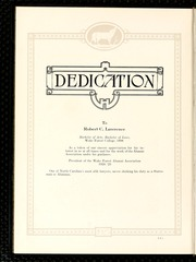 Page 10, 1925 Edition, Wake Forest University - Howler Yearbook (Winston Salem, NC) online yearbook collection