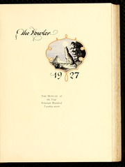 Page 7, 1927 Edition, Wake Forest University - Howler Yearbook (Winston Salem, NC) online yearbook collection
