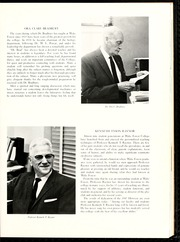 Page 41, 1961 Edition, Wake Forest University - Howler Yearbook (Winston Salem, NC) online yearbook collection