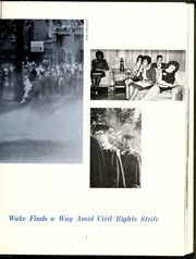 Page 11, 1965 Edition, Wake Forest University - Howler Yearbook (Winston Salem, NC) online yearbook collection