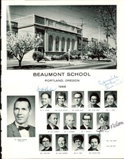Page 3, 1968 Edition, Beaumont Middle School - School Memories (Portland, OR) online yearbook collection