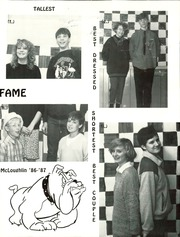 Page 17, 1987 Edition, McLoughlin Middle School - Pedigree Yearbook (Medford, OR) online yearbook collection