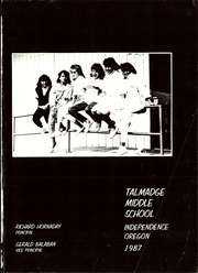 Page 5, 1987 Edition, Talmadge Middle School - Yearbook (Independence, OR) online yearbook collection