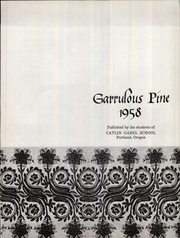 Page 4, 1958 Edition, Catlin Gabel School - Garrulous Pine Yearbook (Portland, OR) online yearbook collection