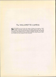 Page 16, 1928 Edition, Willamette University - Wallulah Yearbook (Salem, OR) online yearbook collection