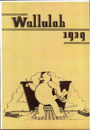 Page 1, 1939 Edition, Willamette University - Wallulah Yearbook (Salem, OR) online yearbook collection
