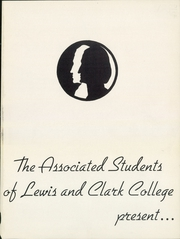Page 5, 1949 Edition, Lewis and Clark College - Voyageur Yearbook (Portland, OR) online yearbook collection