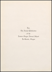 Page 8, 1932 Edition, Eastern Oregon University - Mountaineer Yearbook (La Grande, OR) online yearbook collection