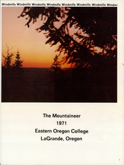 Page 3, 1971 Edition, Eastern Oregon University - Mountaineer Yearbook (La Grande, OR) online yearbook collection