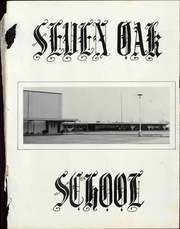 Page 3, 1969 Edition, Seven Oak Middle School - Spartans Yearbook (Lebanon, OR) online yearbook collection