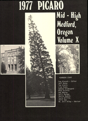 Page 5, 1977 Edition, Medford Mid High School - Picaro Yearbook (Medford, OR) online yearbook collection