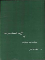 Page 7, 1958 Edition, Portland State University - Viking Yearbook (Portland, OR) online yearbook collection