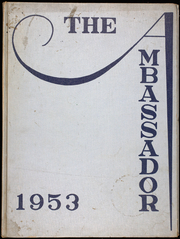 Multnomah University - Ambassador Yearbook (Portland, OR) online yearbook collection, 1953 Edition, Page 1