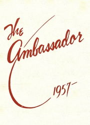 Page 1, 1957 Edition, Multnomah University - Ambassador Yearbook (Portland, OR) online yearbook collection