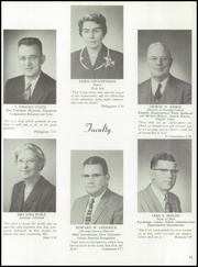 Page 15, 1957 Edition, Multnomah University - Ambassador Yearbook (Portland, OR) online yearbook collection