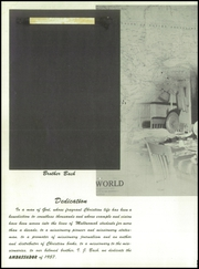 Page 6, 1957 Edition, Multnomah University - Ambassador Yearbook (Portland, OR) online yearbook collection