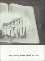 Page 9, 1957 Edition, Multnomah University - Ambassador Yearbook (Portland, OR) online yearbook collection