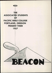 Page 7, 1957 Edition, Warner Pacific College - Beacon Yearbook (Portland, OR) online yearbook collection
