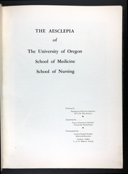 Page 7, 1940 Edition, University of Oregon School of Nursing - Lamp Yearbook (Portland, OR) online yearbook collection