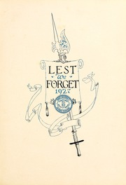 Page 7, 1927 Edition, Union University - Lest We Forget Yearbook (Jackson, TN) online yearbook collection
