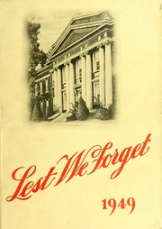 1949 Edition, Union University - Lest We Forget Yearbook (Jackson, TN)
