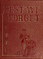 1951 Edition, Union University - Lest We Forget Yearbook (Jackson, TN)