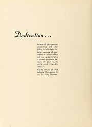 Page 10, 1954 Edition, Union University - Lest We Forget Yearbook (Jackson, TN) online yearbook collection
