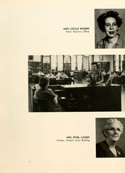 Page 17, 1954 Edition, Union University - Lest We Forget Yearbook (Jackson, TN) online yearbook collection