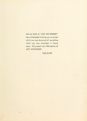 Page 9, 1954 Edition, Union University - Lest We Forget Yearbook (Jackson, TN) online yearbook collection