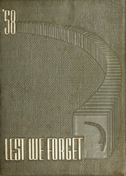 1958 Edition, Union University - Lest We Forget Yearbook (Jackson, TN)
