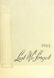 Page 1, 1961 Edition, Union University - Lest We Forget Yearbook (Jackson, TN) online yearbook collection