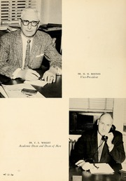 Page 14, 1961 Edition, Union University - Lest We Forget Yearbook (Jackson, TN) online yearbook collection