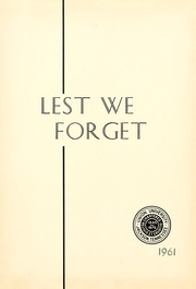 Page 5, 1961 Edition, Union University - Lest We Forget Yearbook (Jackson, TN) online yearbook collection