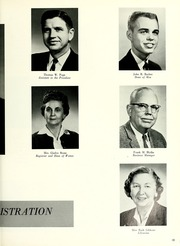 Page 17, 1963 Edition, Union University - Lest We Forget Yearbook (Jackson, TN) online yearbook collection