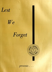 Page 5, 1963 Edition, Union University - Lest We Forget Yearbook (Jackson, TN) online yearbook collection