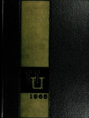 Page 1, 1965 Edition, Union University - Lest We Forget Yearbook (Jackson, TN) online yearbook collection