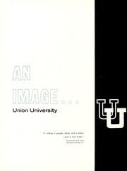 Page 6, 1965 Edition, Union University - Lest We Forget Yearbook (Jackson, TN) online yearbook collection