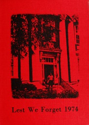 1974 Edition, Union University - Lest We Forget Yearbook (Jackson, TN)