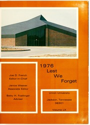 Page 5, 1976 Edition, Union University - Lest We Forget Yearbook (Jackson, TN) online yearbook collection