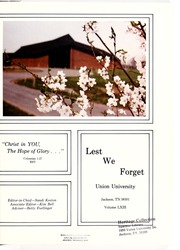 Page 5, 1979 Edition, Union University - Lest We Forget Yearbook (Jackson, TN) online yearbook collection