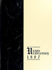 1987 Edition, Union University - Lest We Forget Yearbook (Jackson, TN)