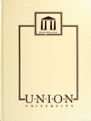 1988 Edition, Union University - Lest We Forget Yearbook (Jackson, TN)