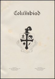 Page 5, 1938 Edition, Columbia Preparatory School - Columbiad Yearbook (Portland, OR) online yearbook collection