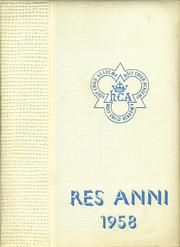 Page 1, 1958 Edition, Academy of the Holy Child - Res Anni Yearbook (Portland, OR) online yearbook collection