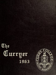 Page 1, 1963 Edition, Curry College - Curryer Yearbook (Milton, MA) online yearbook collection