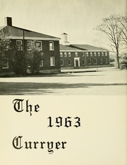 Page 6, 1963 Edition, Curry College - Curryer Yearbook (Milton, MA) online yearbook collection