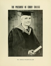 Page 9, 1963 Edition, Curry College - Curryer Yearbook (Milton, MA) online yearbook collection
